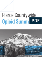 Pierce Countywide Opioid Summit Recommendations