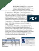 Ingresos y Egresos de Guatemala