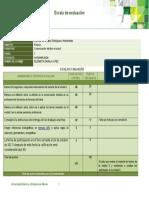 Escala de Evaluacion U1 Autorreflexión EZL
