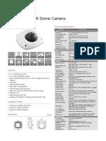 Huawei IPC6332-MIR 3MP Network IR Dome Camera Datasheet
