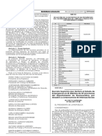 Decreto Supremo Que Declara El Estado de Emergencia en 31 Di Decreto Supremo n 026 2017 Pcm 1497139 3