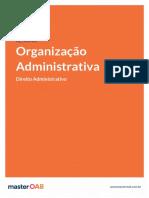 Resumo Administrativo Organização Administrativa
