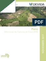 Monitoreo de cultivos de Coca 2016 DEVIDA