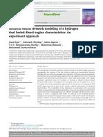 ArtificialNeuralNetworkmodelingofahydrogendualfueleddieselenginecharacteristics_Anexperimenta