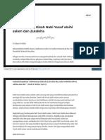 Insansyahadah Wordpress Com 2018-02-05 Pelajaran Dari Kisah