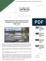 Padah Banjir Besar Dan Kebuluran Kerana Menolak Utusan Allah _ Kisah Nabi Ilyas Alaihi Salam - Sampaikan Tentang Haq Walau Pahit