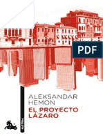 Hemon Aleksandar - El Proyecto Lazaro