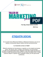 Etiqueta Social USMP