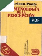Merleau Ponty 1945 Fenomenologia de La Percepcion_doble_pag
