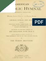 1913 American Catholic Hymnal