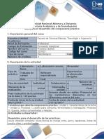 Guía para el desarollo del componente práctico - Laboratorio presencial