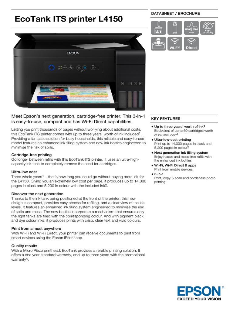 Epson l4150 driver download windows 7 | Descargar Drivers De