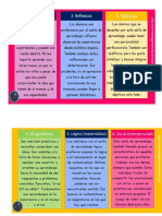 12 tipos de aprendizajes