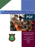 2012 Iecc Plan de Gestion de Uso de Tic Cardenas Centro
