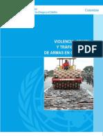 Naciones Unidas - Violencia, Crimen y Trafico Ilegal de Armas en Colombia