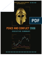 Peace and Conflict Ledger 2008 Exec Sum
