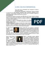 Historia Del Cálculo Dif