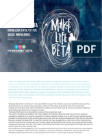 Permanent Beta - Knowledge Catalyst For Social Innovations