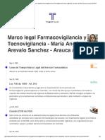 Actividad 1 - Farmacovigilancia y Tecnovigilancia - María Angelica Arevalo Sanchez - Arauca - Arauca