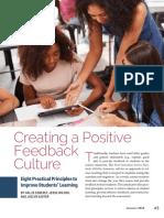 positive feedback article
