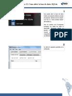 12. Como Abrir La Base de Datos SQLite