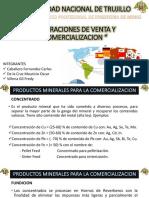 Operaciones de Venta y Comercializacion