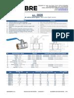 Valvula zincada PN25