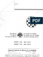 Service manual bultaco shera