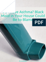 Black Mold in Your House Could Be the Blame for Your Asthma