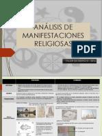 Analisis de Manifestaciones Religiosas