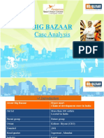 bigbazaar case analysis
