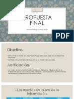 Propuesta Final