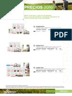 16 5015 SP MX Nueva Lista de Precios LQ 1129161