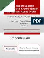 Ppt Crs Rinosinusitis Kronik