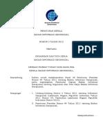 Organisasi Dan Tata Kerja Badan Informasi Geospasial