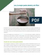 El aceite de coco, la mejor pasta dental y sin flúor.pdf