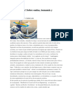 Relacion Entre La Longitud y La Frecuencia en Los Movimientos de Las Olas Kayak