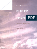 Leo Charney Empty Moments Cinema Modernity and Drift