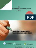 Diapositvas Del Gasto Publico 1