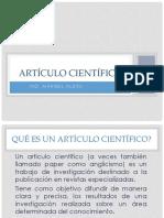 6. Articulo Cientifico Caracteristicas Formato
