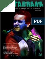 CANTARRANA  No. 26. Revista de Poesía  Enero 2018. Cartago, Valle, Colombia