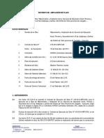 Informe de Ampliación de Plazo No 01