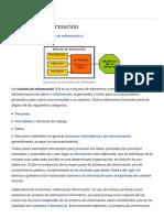 Sistema de Información - Wikipedia, La Enciclopedia Libre