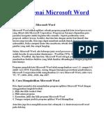 Mengenai Microsoft Word