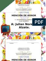 Mencion de Honor