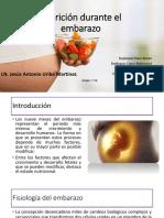 Nutrición en el Embazaro