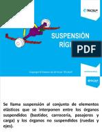 Suspensión r í Gid A