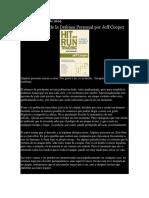 Los Principios de La Defensa Presonal de Jeff Cooper
