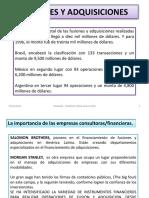 3.-Fusiones y Adquisiciones.