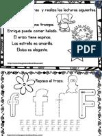 Cudernillo Para Repasar El Abecedario Lectura y Trazo PDF 16 30